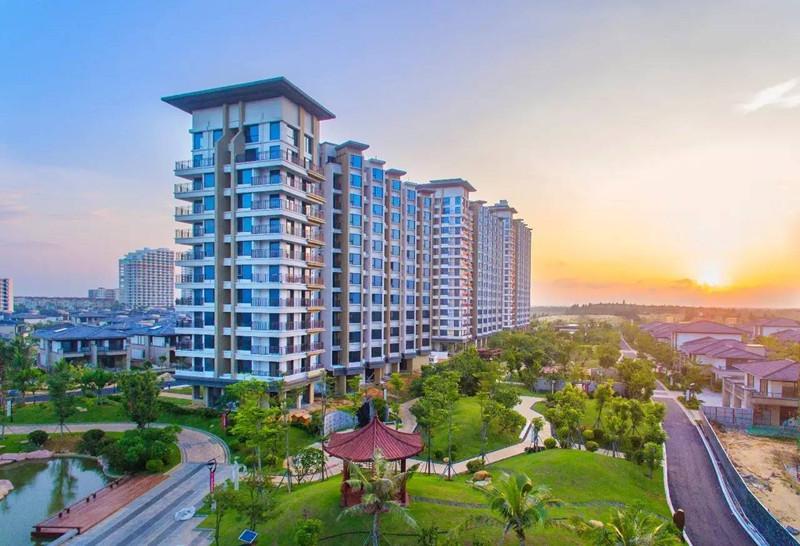 富力月亮灣預計2021年9月底海尚公寓交房